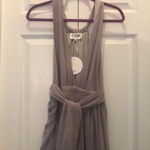Sabo skirt formal lavender dress size xs